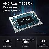 Beelink GT-R Mini PC Window 10 Pro AMD Ryzen 5