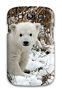 (XGkJZkC3882gvmez)durable Protection Case Cover For Galaxy S3(cute Baby Polar Bear Animals)