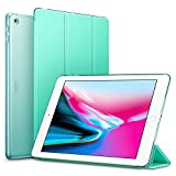 ESR iPad 2017 iPad 9.7-inch Case, Lightweight Smart Case Trifold Stand with Auto Sleep/Wake Function, Microfiber Lining, Hard Back Cover for the Apple iPad 9.7-inch,Mint Green