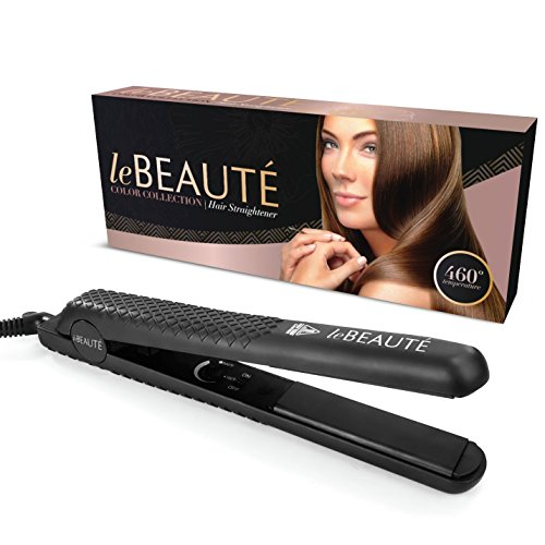 le-beaute-ceramic-flat-iron-hair-straightener-1-inch