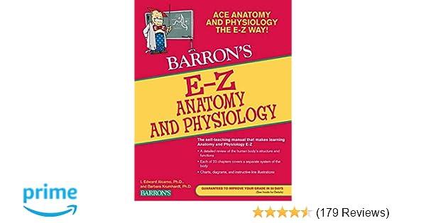 E-Z Anatomy and Physiology (Barron's Easy Series): Barbara