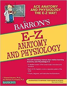 E-Z Anatomy and Physiology (Barron's Easy Series): Barbara Krumhardt