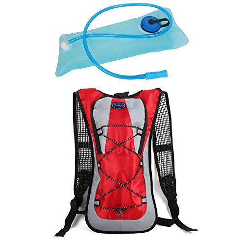 68b43f27db39 Zaidogear Hydration Pack with 2L Backpack BPA Free Water Bladder, Fits Men,  Women, Youth and Kids, Used for Hiking, Running, Cycling, and Skiing - Red  ...