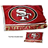 San Francisco 49ers Double Sided Allegiance Flag