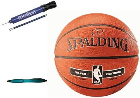 Baloncesto Spalding Al aire libre de tamaño 5 + molten DHP21 ...