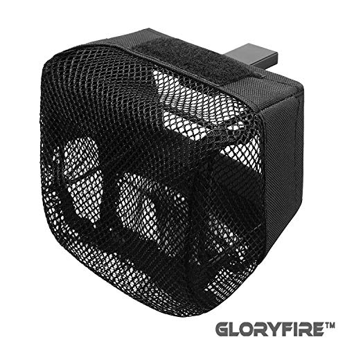 GLORYFIRE Pic Rail Brass Catchers Shell Catchers with Heat Resistant Mesh and Zippered Bottom for Picatinny Weapon Mountable Brass Collection