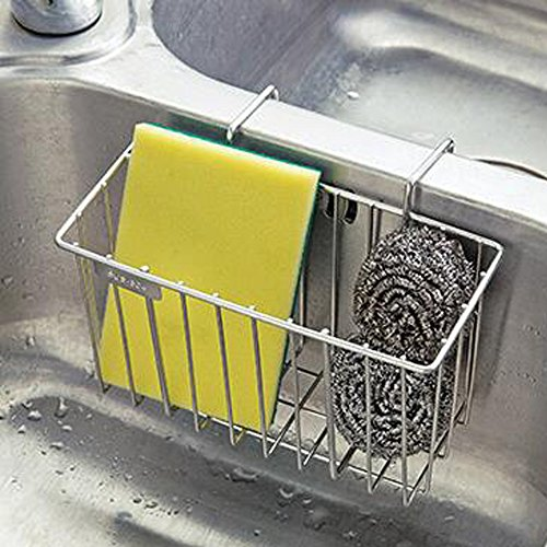 Tuutyss Stainless Steel Large Capacity Hanging Sink Caddy