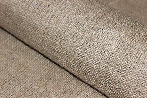 burlap upholstery fabric - 1