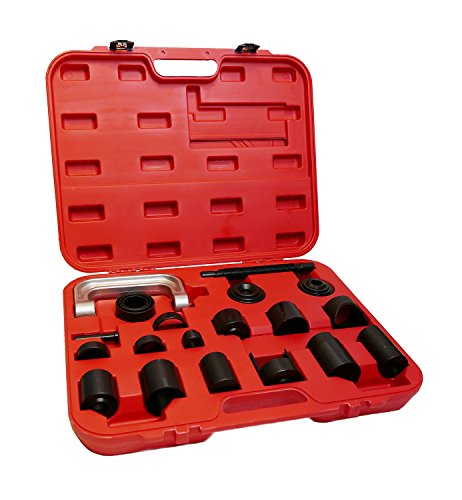 ABN Ball Joint Remover Puller and Installer with Adapters 21-Piece Tool Kit for Repair Service, Removal, Installation