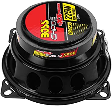3 Way Easy Mounting 225 Watts of Power Per Pair and 112.5 Watts Each 4 Inch Full Range BOSS Audio Systems CH4230 Car Speakers Sold in Pairs