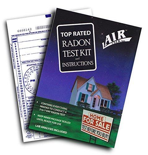 Blue Postage - Airchek 3 to 7 Day Charcoal Radon Test Kit