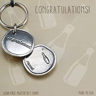 product image for Crosby & Taylor Congratulations! Sentiment Key Chain