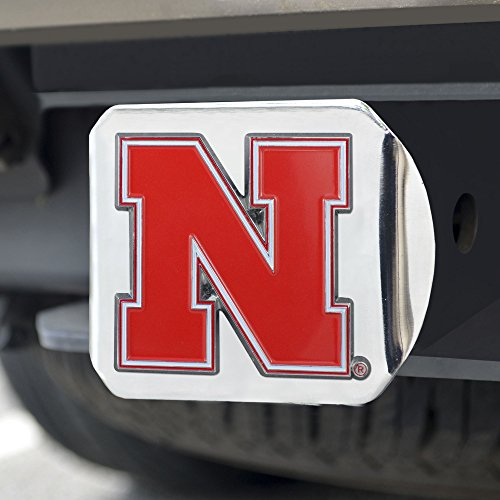 - Fanmats NCAA Nebraska Cornhuskers University of Nebraskacolor Hitch - Chrome, Team Color, One Size