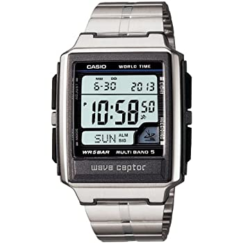 amazon com casio watch wave ceptor waveceptor radio clock model rh amazon com