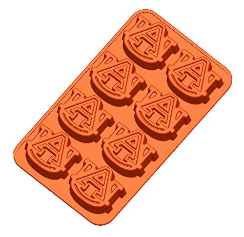 NCAA Auburn Tigers Ice Trays & Candy Mold, One Size, (Eagle Ice Mold)