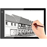 A4 Ultra-thin Portable LED Light Box,Littleice Tracer USB Power Cable Dimmable Brightness LED Artcraft Tracing Light Pad Sketching Drawing Light Box