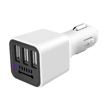 likeitwell Cargador de Coche multifunción, Triple USB, Iones ...