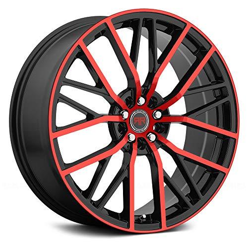 Racing Revolution - REVOLUTION RACING RR07 Black with Red Face Custom wheels - 17