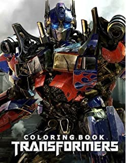 Transformers Coloring Book Great For Adults And Kids