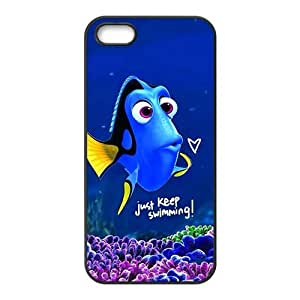 Finding Nemo lovely blue fish Cell Phone Case for iPhone 5S
