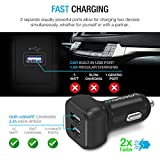 Maxboost Car Charger with SmartUSB Port 4.8A/24W