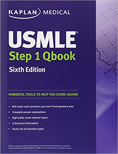 USMLE Step 1 QBook: Kaplan: 9781419550478: Books - Amazon ca