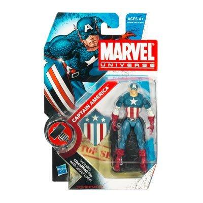 Marvel Universe Captain America 3-3/4 Inch Scale Action Figure Series 2 Figure 008