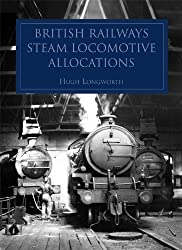 British Railways Steam Locomotive Allocations