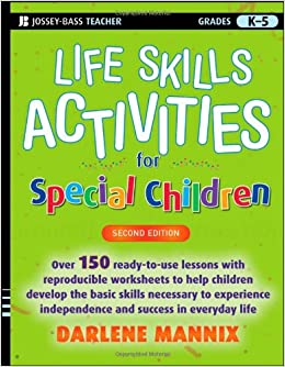 Printables Basic Living Skills Worksheets life skills activities for special children darlene mannix 2nd edition