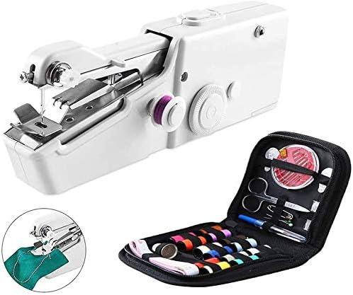 ODODDE Mini máquina de Coser, máquina de Coser eléctrica portátil con Herramienta Manual, Cortina Artesanal DIY para la Industria Textil del hogar: Amazon.es: Hogar