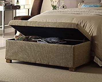 Amazon Com End Of Bed Storage Bench Bedroom Benches At Foot Of