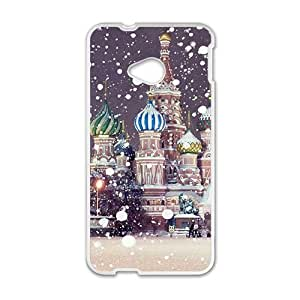 Malcolm Tower Phone Case for HTC One M7 case