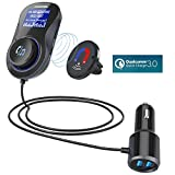 Best Car Fm Transmitters - Bluetooth Car FM Transmitter,Acekool Wireless Radio Transmitter Audio Review