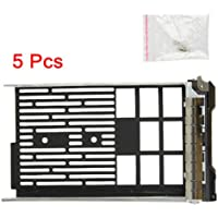 (5 Pack)3.5 F238F 0G302D G302D 0F238F 0X968D X968D SAS/SATAu Hard Drive Tray/Caddy for DELL server R610 R710 T610 T710 Compatible with F238F