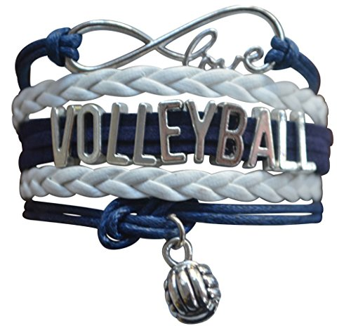 Volleyball Bracelet- Girls Volleyball Jewelry - Perfect Volleyball Gifts for Players -