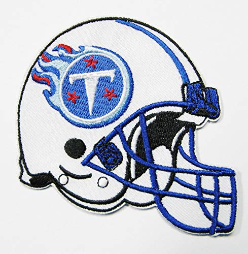 (New NFL Tennessee Titans Embroidered Helmet Patches 3 1/2