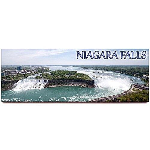Niagara Falls Panoramic Fridge Magnet Ontario New York Travel Souvenir