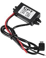 Auto DC naar DC converter spanningsomvormer 12V naar 5V USB converter voeding spanningsomvormer waterdicht voor smartphone auto
