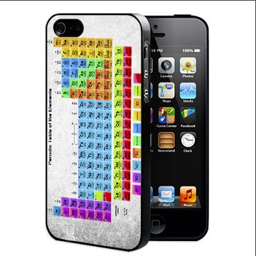 Amazon periodic table hard snap on cell phone case cover periodic table hard snap on cell phone case cover iphone 5 5s urtaz Choice Image