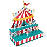 "Tent-Shaped Lollipop Stand. Holds 4 Dozen Pops. Foam. (18"" x 8 1/2"" x 21 1/2"")"