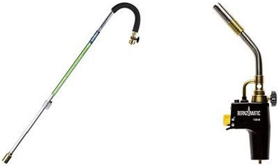 Bernzomatic Self-Igniting Outdoor Torch and Trigger Start Torch