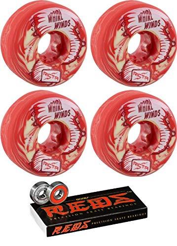 若者の大愛商品 Ricta 53mm Wheels Whirlwinds スケートボードホイール ボーンベアリング Whirlwinds - 8mm 8mm B07HRHN8YN ボーン レッド 精密スケート評価 スケートボードベアリング - 2点セット B07HRHN8YN, 原田こうじ味噌:1c7302e4 --- mvd.ee