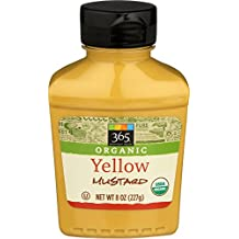 365 Everyday Value, Organic Yellow Mustard, 8 Ounce