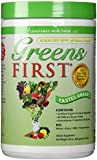 Greens First Nutrient Rich-Antioxidant Plant-Based Daily Superfoods + Probiotics For Healthy Digestion, 19.9 oz. - 60 Servings