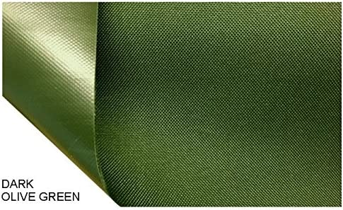 GREEN Heavy Duty Waterproof Canvas Fabric 600D Outdoor Cover Sold By the Metre
