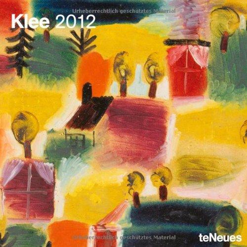 2012 Paul Klee Wall Calendar (English, German, French, Italian, Spanish and Dutch Edition)