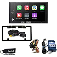 Alpine iLX-107 7-Inch Receiver with Wireless Apple CarPlay, Backup Camera w/ Mount & Steering Wheel Control Interface