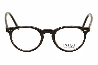 ce1cfa615ca Polo Men s PH2083 Eyeglasses Shiny Black 48mm at Amazon Men s Clothing store