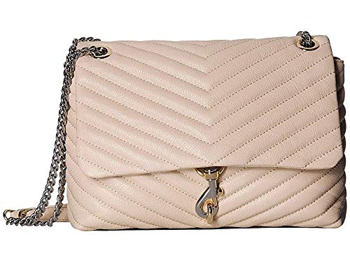 Rebecca Minkoff Women's Edie Flap Shoulder Bag Clay One Size