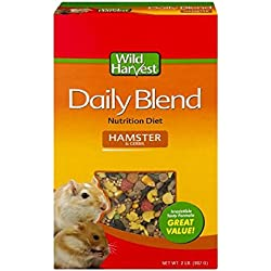 Wild Harvest Daily Blend Nutrition Diet for Hamsters & Gerbils, 32 oz